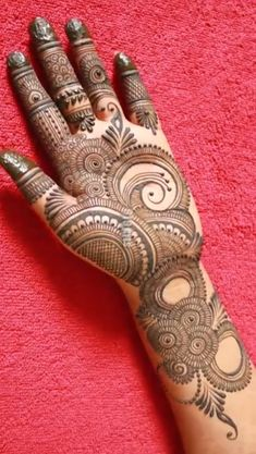 Palm Mehndi Design, Mehndi Designs Front Hand, Rose Mehndi Designs, Finger Henna Designs, Latest Bridal Mehndi Designs, Full Hand Mehndi Designs, Modern Mehndi Designs, Mehndi Designs For Girls, Mehndi Design Photos