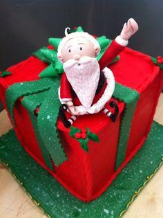 Christmas Cake by OatmealOverboard