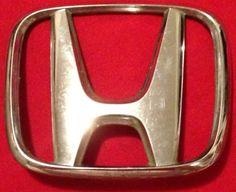 Gold Honda Badge - Very popular badge!