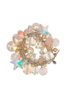 Tarina Tarantino Bubble Pop Multi Bead Charm Bracelet