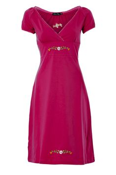 dress Carmen Cerise