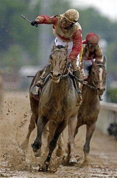 Orb winning Kentucky Derby
