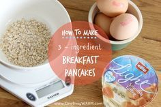 Slimming World pancakes - my favourite breakfast to lose weight with!
