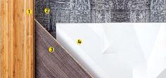 (3). Há nove padrões na linha de laminados de madeira Ambience, da Eucatex. O Carvalho Antigo tem textura rústica e mede 25 x 135,7 cm.