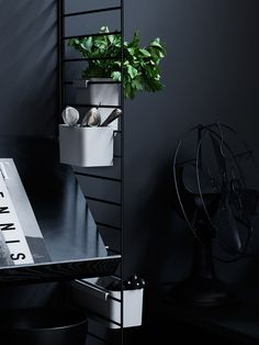 Two Swedish design giants String Furniture  and interior stylist Lotta Agaton  come together to inspire us with storage solutions and stunn...