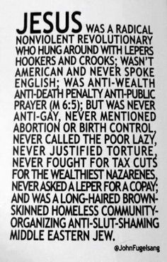 Liberal Jesus. | elephant journal