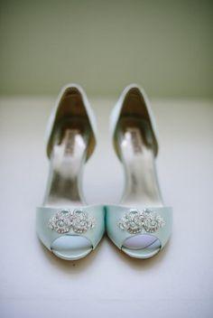 79211e3c3d8e blue shoes northern virginia wedding ideas brittany defrehn photography  275x411 Peach and Mint Wedding Ideas