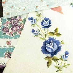 Dump Your Tissue Box for Handkerchiefs | Homespun Life in the City Blog