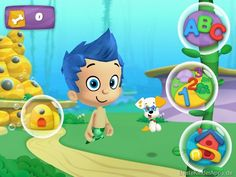 Bubble Puppys Spielen Lernen Bubble Guppies App (6)