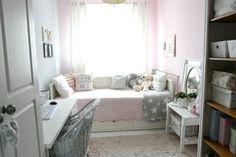 My little white Home: Pastelowy pokój nastolatki