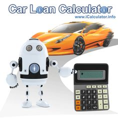 Car Loan Calculator with monthly repayment and loan interest calculator