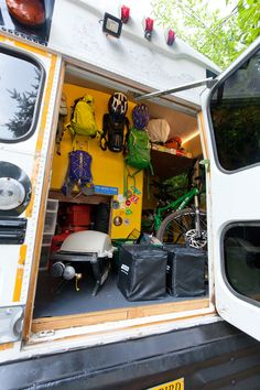 there's an idea -- have a 'garage' in the back. Could be useful!