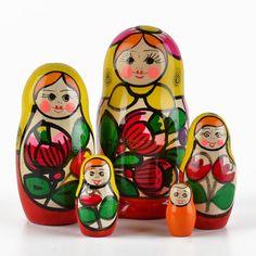 Maiden Matryoshka from Russia