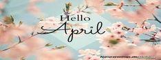 ∻ April Facebook Cover ∻