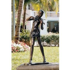 Special Offers - Design Toscano SU2835 The Young Violinist Statue - In stock & Free Shipping. You can save more money! Check It (May 08 2016 at 03:16AM) >> http://birdhouseusa.net/design-toscano-su2835-the-young-violinist-statue/