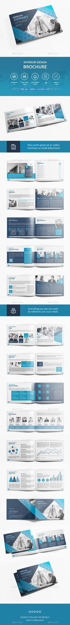 Annual Report Brochure - annual report template word