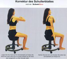 Korrektur des Schulterblattes nach der Methode Dorn