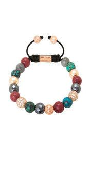 Diamond/Bali Turquoise/Red Jade/Labradorite
