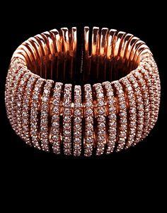 Mattia Cielo rose gold & diamond bracelet
