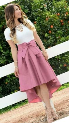 Swans Style is the top online fashion store for women. Shop sexy club dresses, jeans, shoes, bodysuits, skirts and more. Modest Outfits, Skirt Outfits, Classy Outfits, Modest Fashion, Dress Skirt, Casual Outfits, Fashion Dresses, Cute Outfits, Jw Fashion