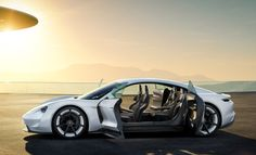 Porsche Is On a Mission With Their New Electric Powered Concept