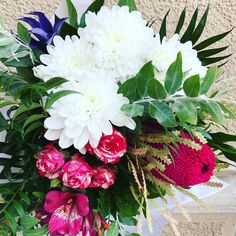 Lat banksia gone to an 18 year old babe www. Happy B Day, Special People, Flower Arrangements, Exotic, Babe, Floral Wreath, Wreaths, Green, Flowers
