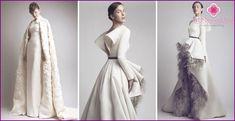 Zimné svadobné šaty 2016, modelky a štýly s fotografiami