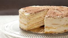 Mille-Crepe Tiramisu Birthday Cake Recipe | Tasting Table