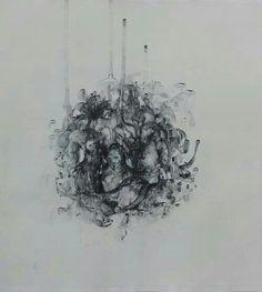 Jayne Anita Smith - Feral Angel Drawing
