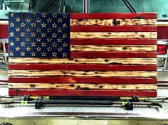 Hand Carved Rustic American Flag. Burned Wood Art.   https://www.etsy.com/shop/rusticamericandecor