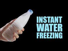 Instant Water Freezing - 5 Amazing Tricks - YouTube