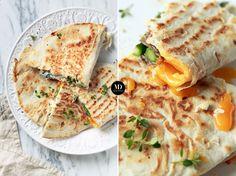 Tortilla (piada) ze szparagami, szynką parmeńską, jajkiem, tymiankiem i oregano z mozzarellą i dressingiem 🌸😋 Czyli mój sposób na resztki 😎 // Wraps, Quesadilla or Piada with Asparagus, Prosciutto De Parma, egg, thyme, oregano and mozzarella cheese  #mojadelicja #food #foodporn #foodphotography #foodblogger #foodblogfeed #foodie #breakfast #asparagus #szparagi #śniadanie #piada #quesadilla #wrap #jedzenie #gotowanie #lovefood #foodlover