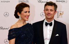 Princess Mary attends Kryolan at the Bambi Awards 2014