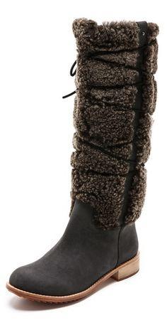 2/10/14 Matt Bernson Alpenglow Shearling Shaft Boots