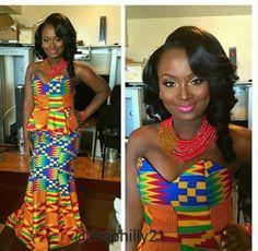 Traditional Weddings: We Love Kente Brides  (Ghana) Traditional Weddings: We…