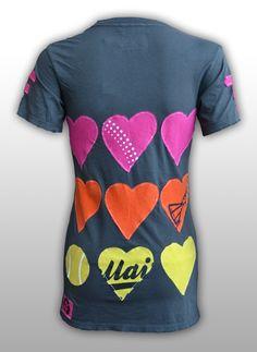 G Wear, LLC - I Love Tennis T Shirt, $68.00 (http://mygwear.com/i-love-tennis-t-shirt/)