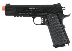 KWA Airsoft M1911 PTP MKII gas blow back pistol NS2 Black by KWA. $199.95. KWA Airsoft M1911 PTP MKII gas blow back pistol NS2 Black A solid, full-sized gas blow back pistol from KWA. The PTP line is designed for professional training and extreme playing environments. The patented NS2 Gas system increases the performance and improves the overall reliability of the gun. The PTP MKII provides a crisp, smooth blow back action. You'll find it nicely weighted and balanced in your h...