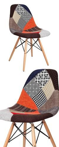 Bohemian style meets eclectic artistry. Our unique Patchwork Dining Chair…