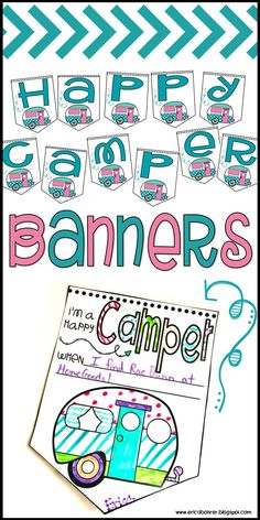 Happy Camper Banners