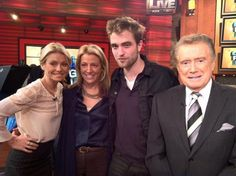 Robert Pattinson to appear on 'LIVE with Kelly and Michael' on November 8