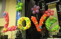 60's Theme Balloons!