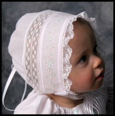 "Download ""Lauren""-a Baby Heirloom Cap by Sara Norris Sewing Pattern 