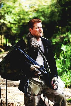 The Walking Dead Abraham Ford...  sad to see you go too, bitch nuts.  You always cracked me up with your expressions.
