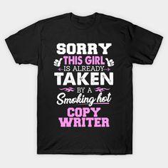 Copy Writer Shirt Cool gift for Girlfriend or wife of Copy Writer T-Shirt  #birthday #gift #ideas #birthyears #presents #image #photo #shirt #tshirt #sweatshirt