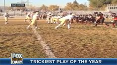 Greatest trick play ever?