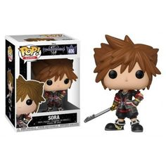 We are a team and a team delegates! Through the power of friendship, Sora, Donald and Goofy unite with iconic Disney-Pixar characters old and new to overcome tr Sora Kingdom Hearts, Pop Vinyl Figures, Best Funko Pop, Funko Pop Dolls, Funko Figures, Pixar Characters, Character And Setting, Funko Pop Vinyl, Unisex