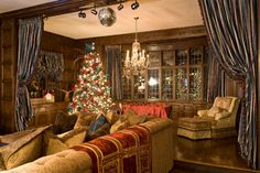Hartford, CT - traditional - family room - other metro - by Kellie Burke Interiors