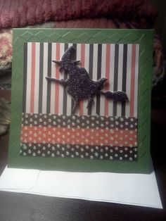 Witchy Woman Halloween Card by HappyTreeCreations on Etsy, $3.95