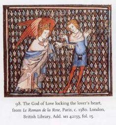 An aumônière circa 1380, Paris