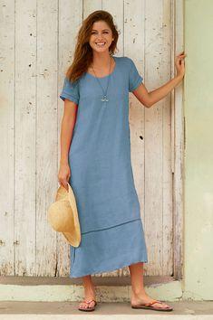 a288d5db969 ASPIGA · SS19 Collection · Alisha Linen Midi Dress